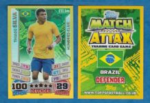 Brazil Thiago Silva Paris St Germain 100 Club 269